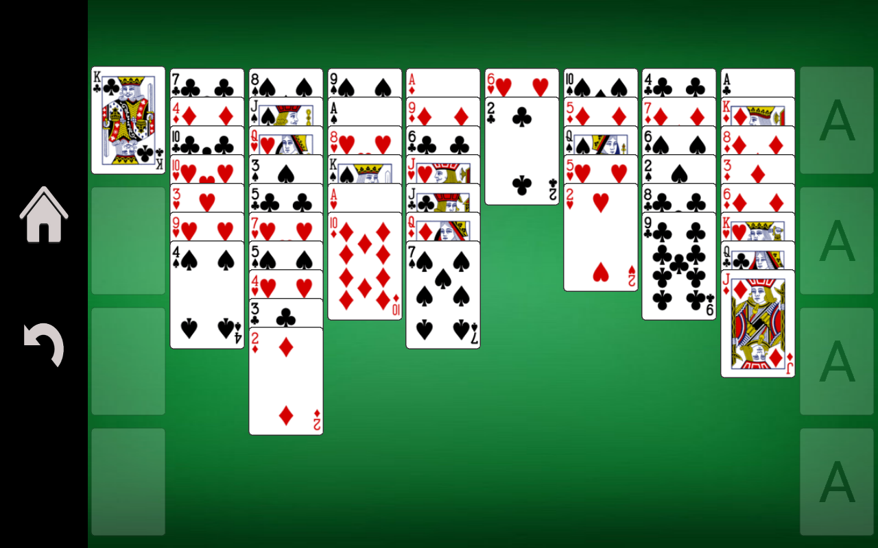 Screenshot for freecell-solitaire