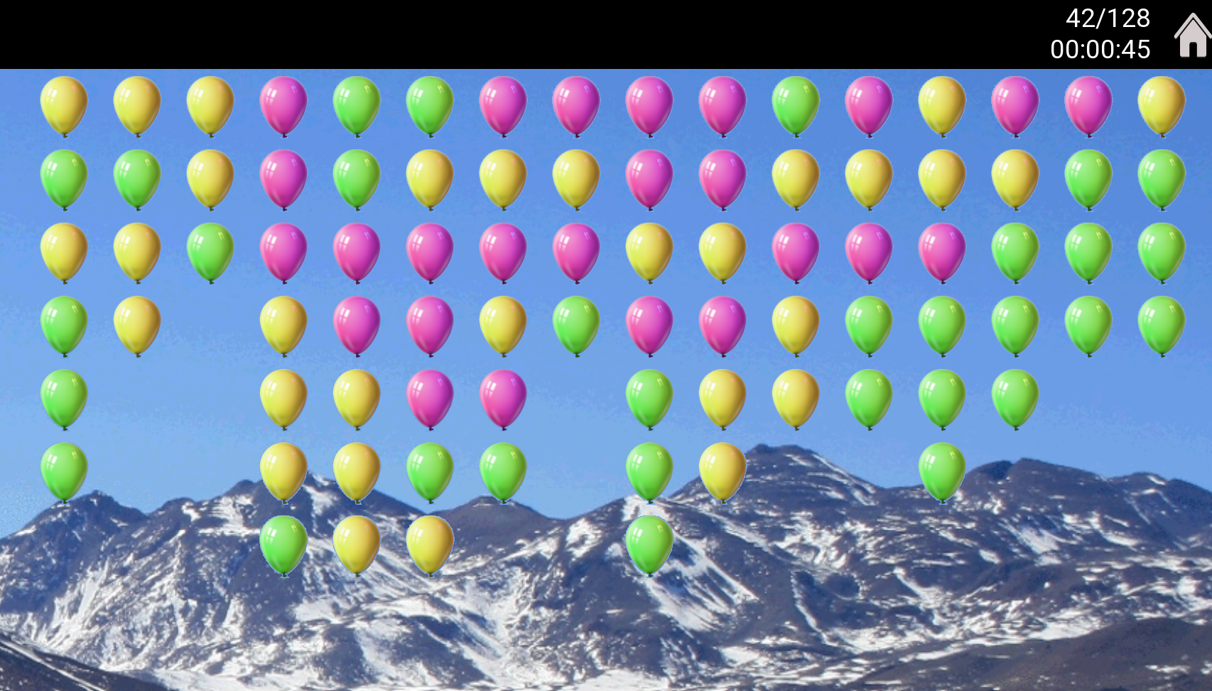 Screenshot for balloon-pop
