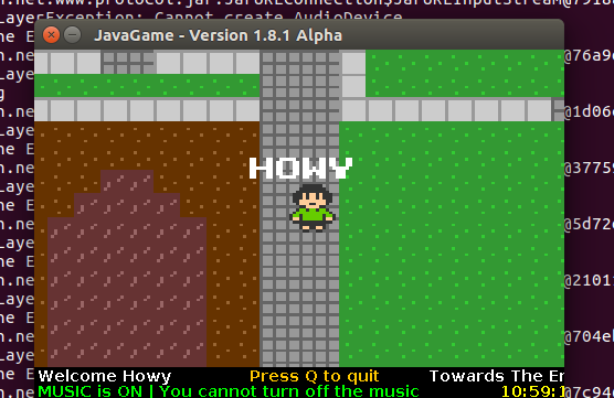 Screenshot for javagame