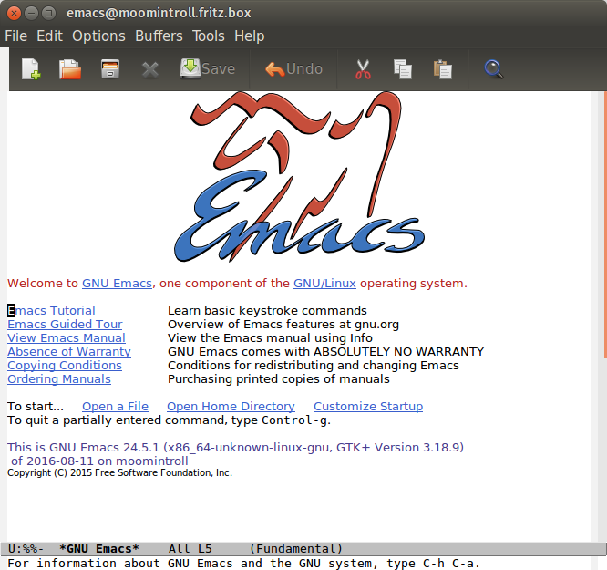 Screenshot for emacs-tealeg