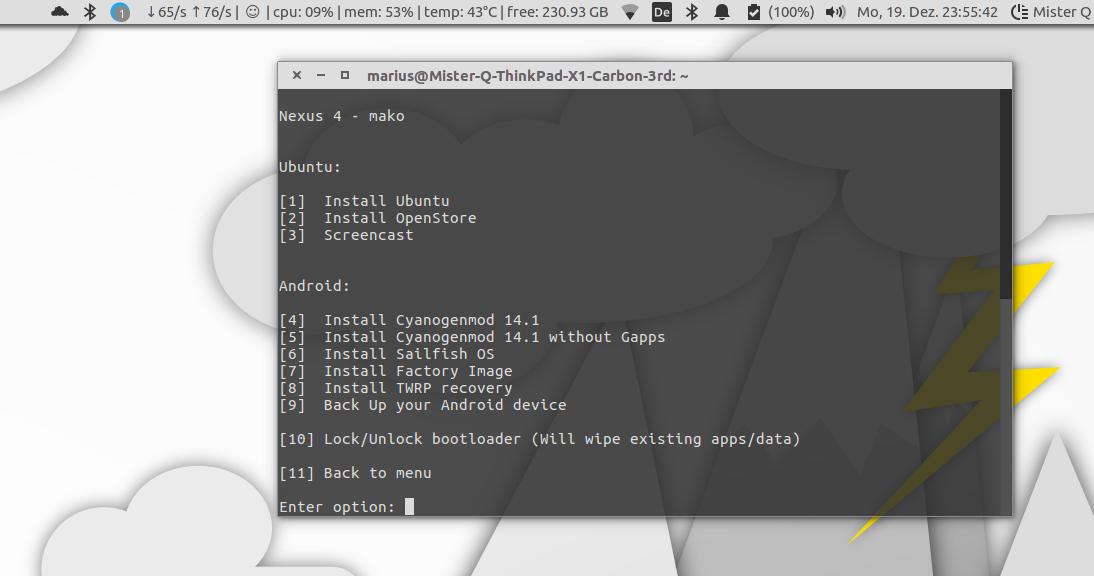 Screenshot for magic-device-tool