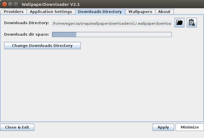 Screenshot for wallpaperdownloader