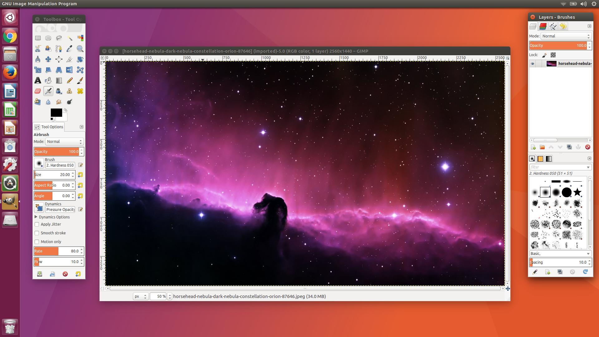 Screenshot for GIMP