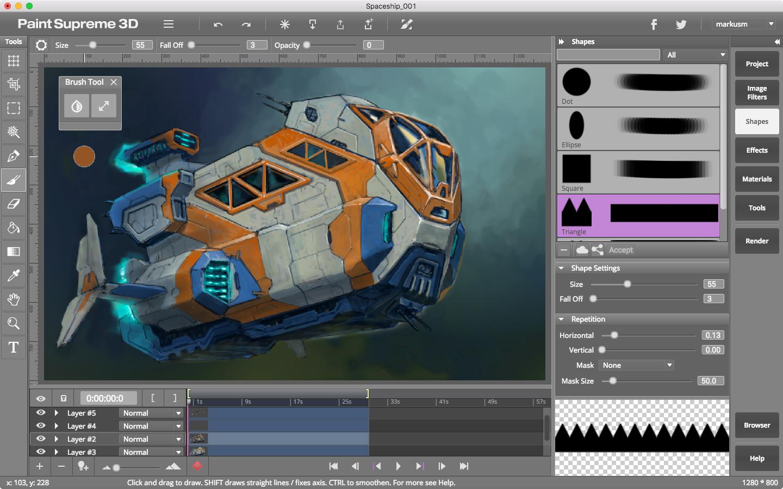 Screenshot for paintsupreme-3d