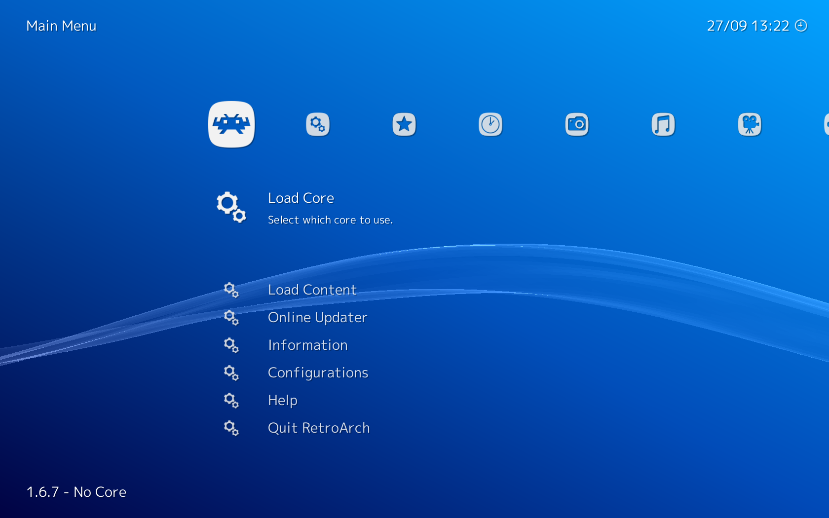 Screenshot for retroarch