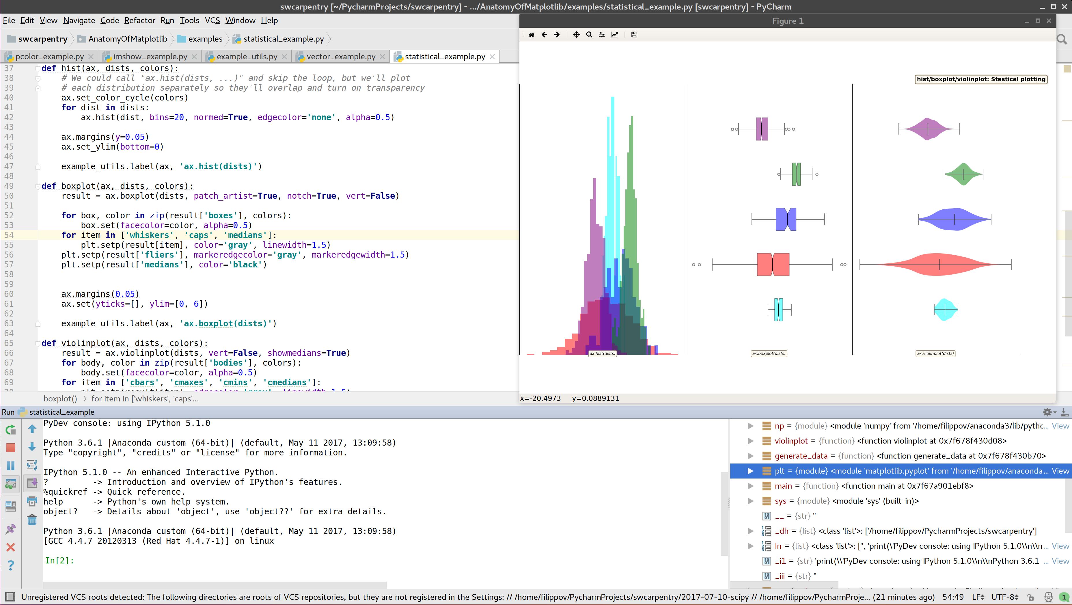 Screenshot for PyCharm CE