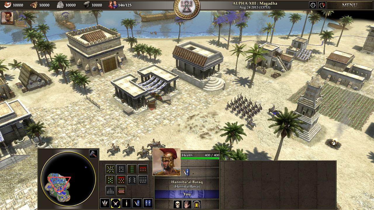 Screenshot for 0 A.D.