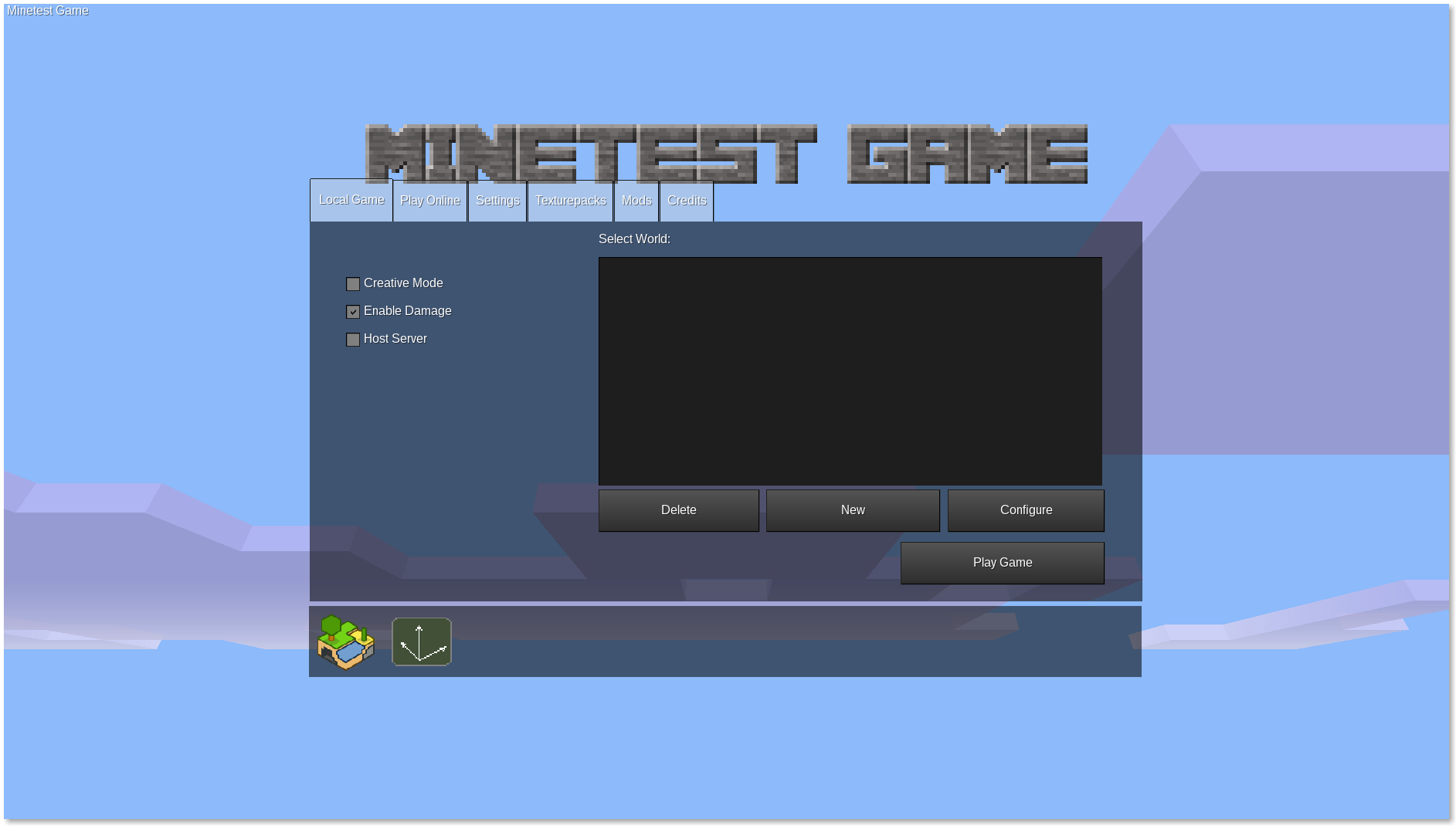 Screenshot for Minetest