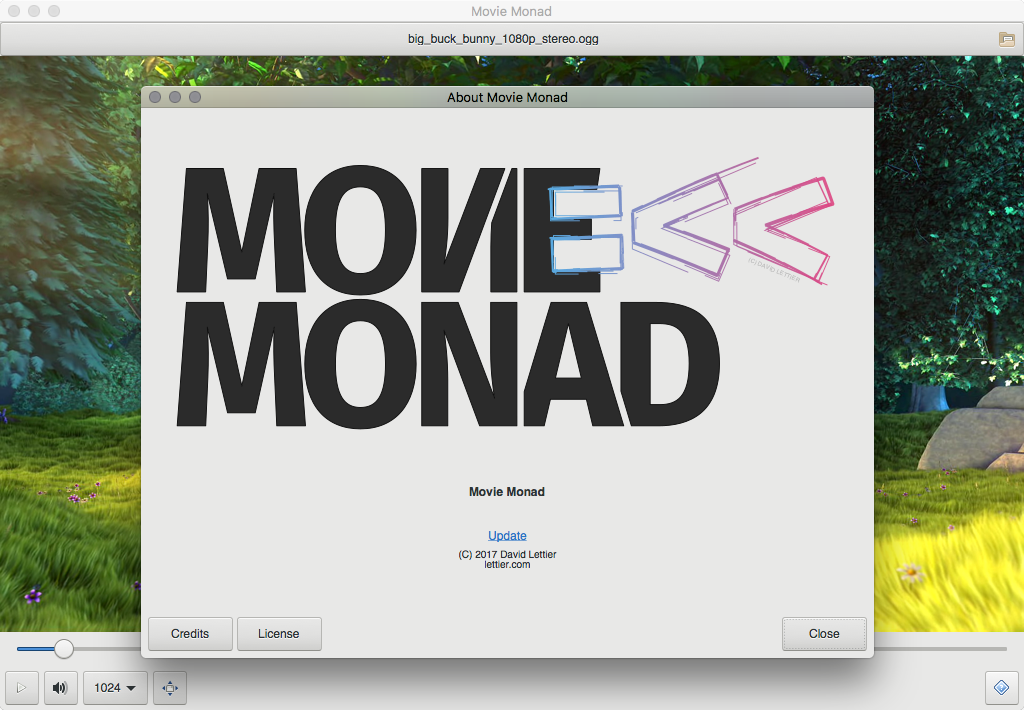 Screenshot for movie-monad