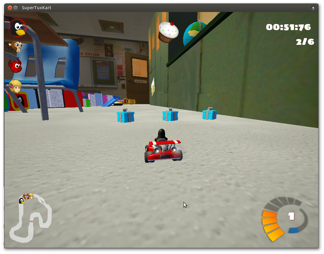 Screenshot for supertuxkart