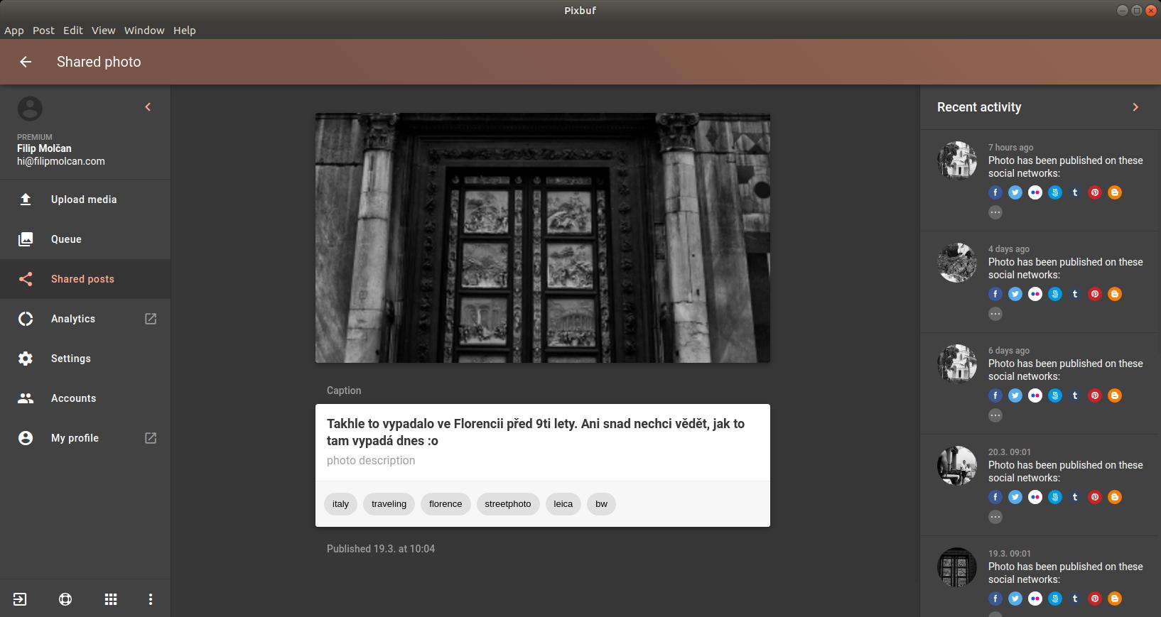 Screenshot for Pixbuf