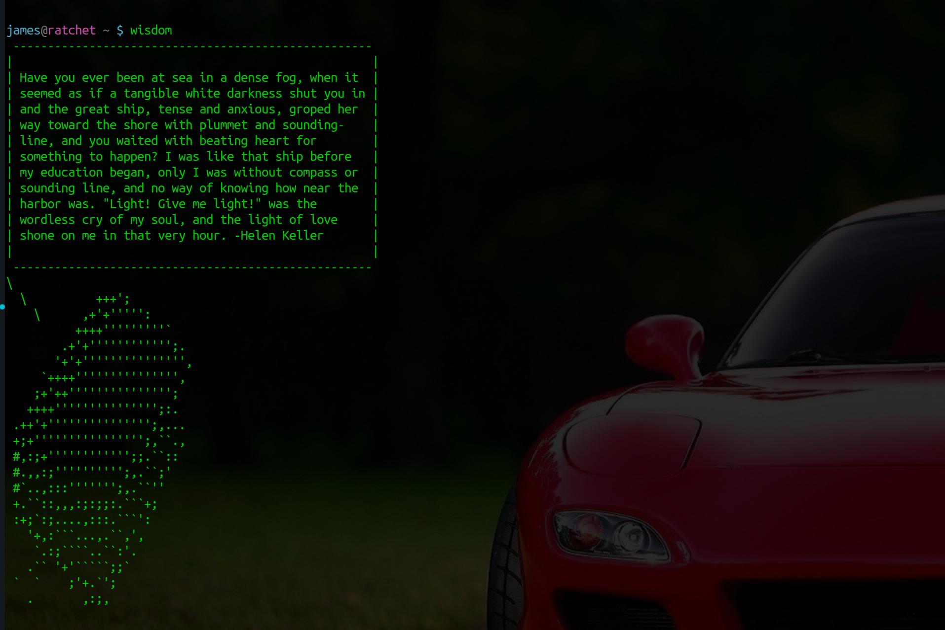 Screenshot for wisdom