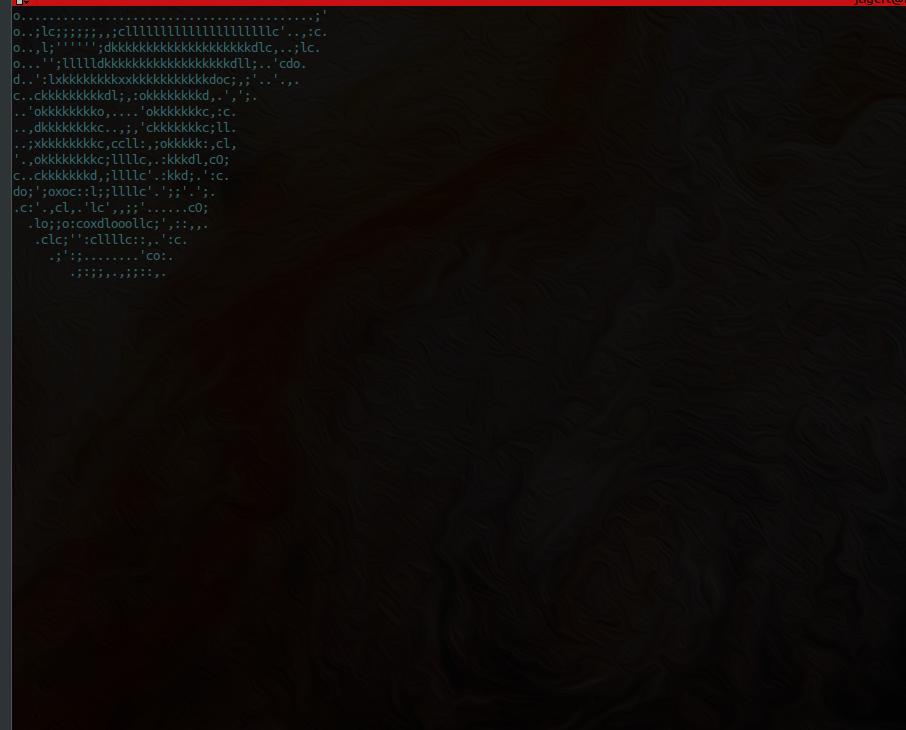 Screenshot for terminal-parrot