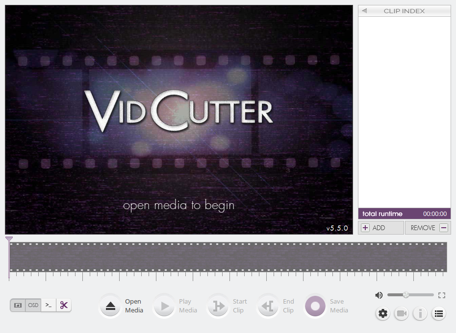 Screenshot for VidCutter