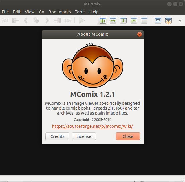 Screenshot for mcomix-tabetai