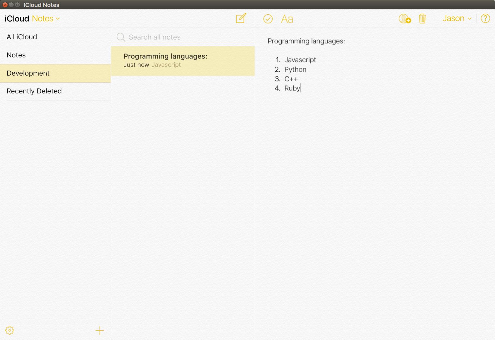 uApp Explorer - icloud-notes-linux-client