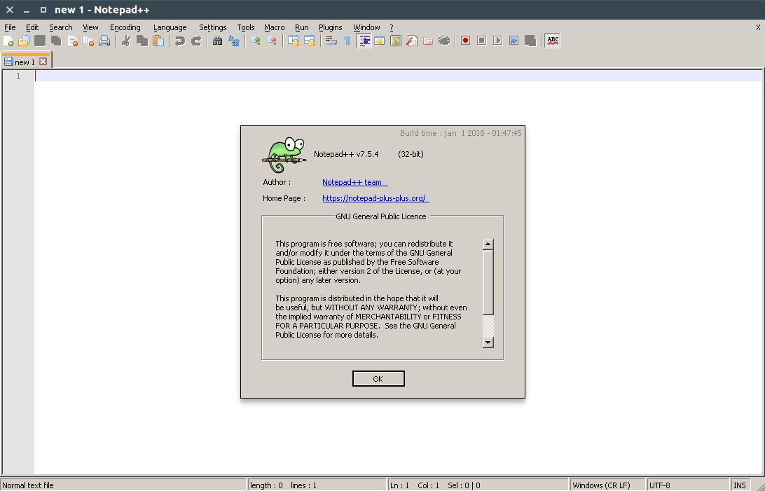 Screenshot for Notepad-Plus-Plus
