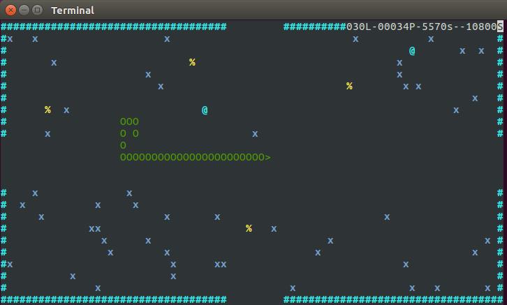 Screenshot for msnake
