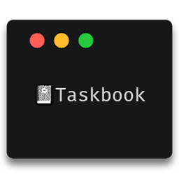 Taskbook snap