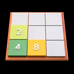 GNOME 2048 snap