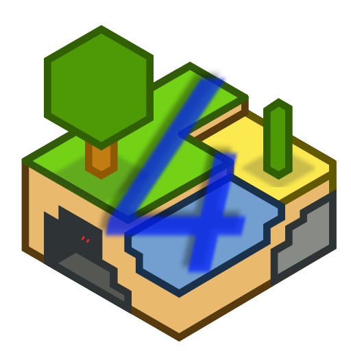 Icon for [OLD] Minetest 0.4 (unofficial fork)
