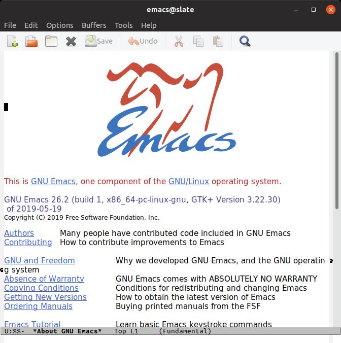 uApp Explorer - emacs