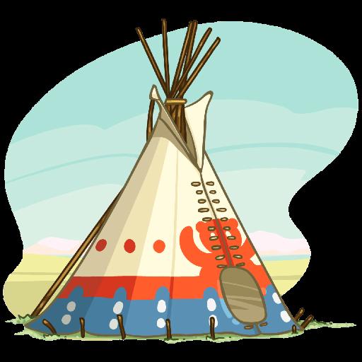 Icon for powwow
